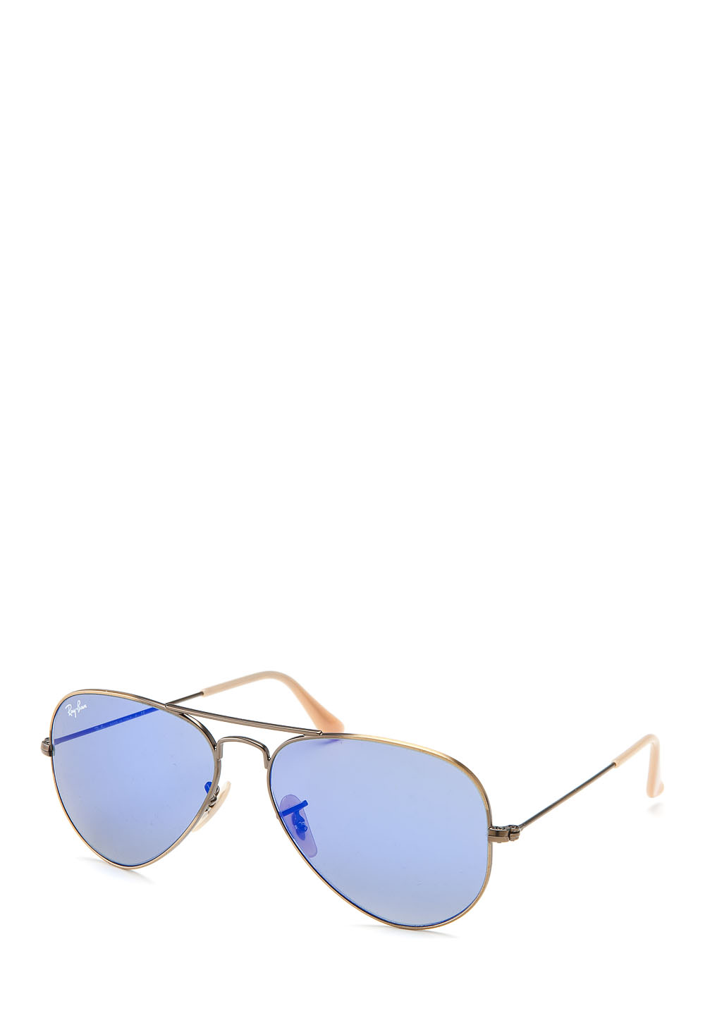 Sonnenbrille Aviator Large Metal, Uv400, matt gold