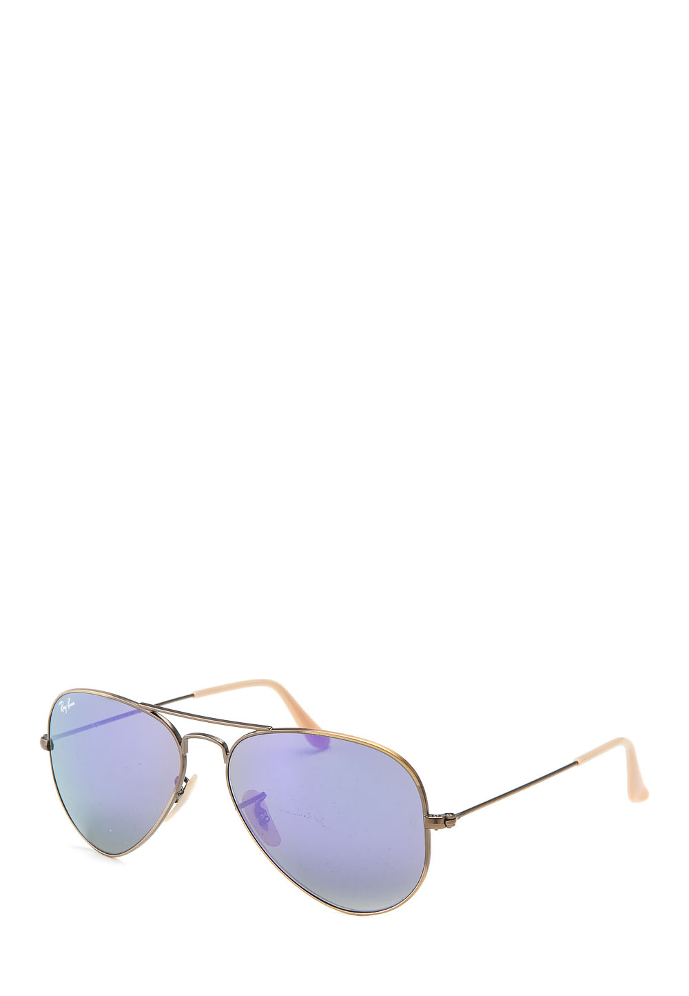 Sonnenbrille Aviator Large Metal, UV 400, mattgold