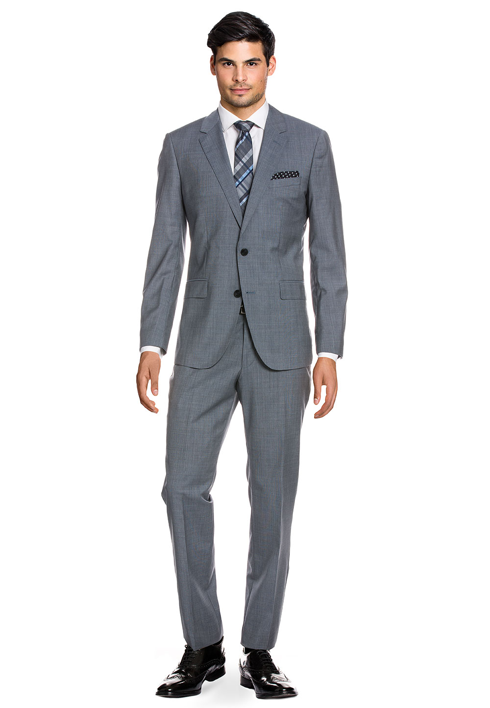 Tommy Hilfiger Anzug, Wolle, Fitted Fit grau   Bekleidung > Anzüge & Smokings > Anzüge   Grau   Tommy Hilfiger