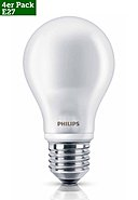 PHILIPS - LED Leuchtmittel, 4er-Pack, 6 (40)W, E27, Eff. A+