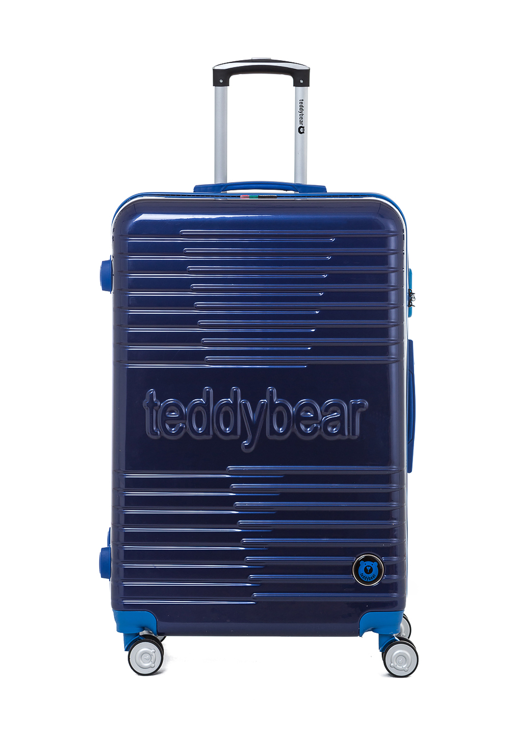 Teddy Bear Hartschalen-Trolley Sumire blau | Taschen > Koffer & Trolleys > Trolleys | Blau | Teddy Bear