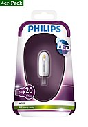 PHILIPS - LED-Brenner, 4er-Pack, 2W, A++