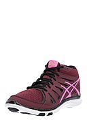 ASICS - Midtop-Trainingsschuhe Gel Fit Tempo 2, weinrot