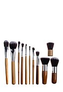ZOË AYLA - Professional-Brush-Set Bamboo, 11-teilig