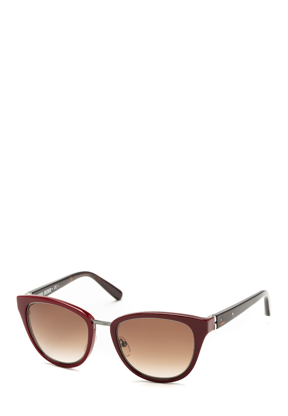 Bobbi Brown Sonnenbrille The Rowan, UV 400, rot/braun