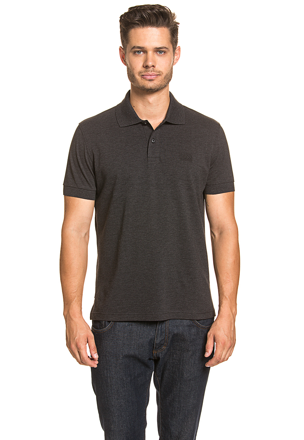 Boss Green Polo-Shirt Firenze, Modern Fit schwarz | Bekleidung > Polo Shirts > Kurzarm | Schwarz | Boss Green