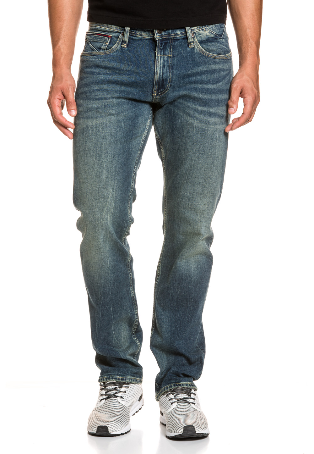 Tommy Hilfiger Stretch-Jeans Ryan, Straight Fit blau | Bekleidung > Jeans > Stretch Jeans | Blau | Jeans | Tommy Hilfiger