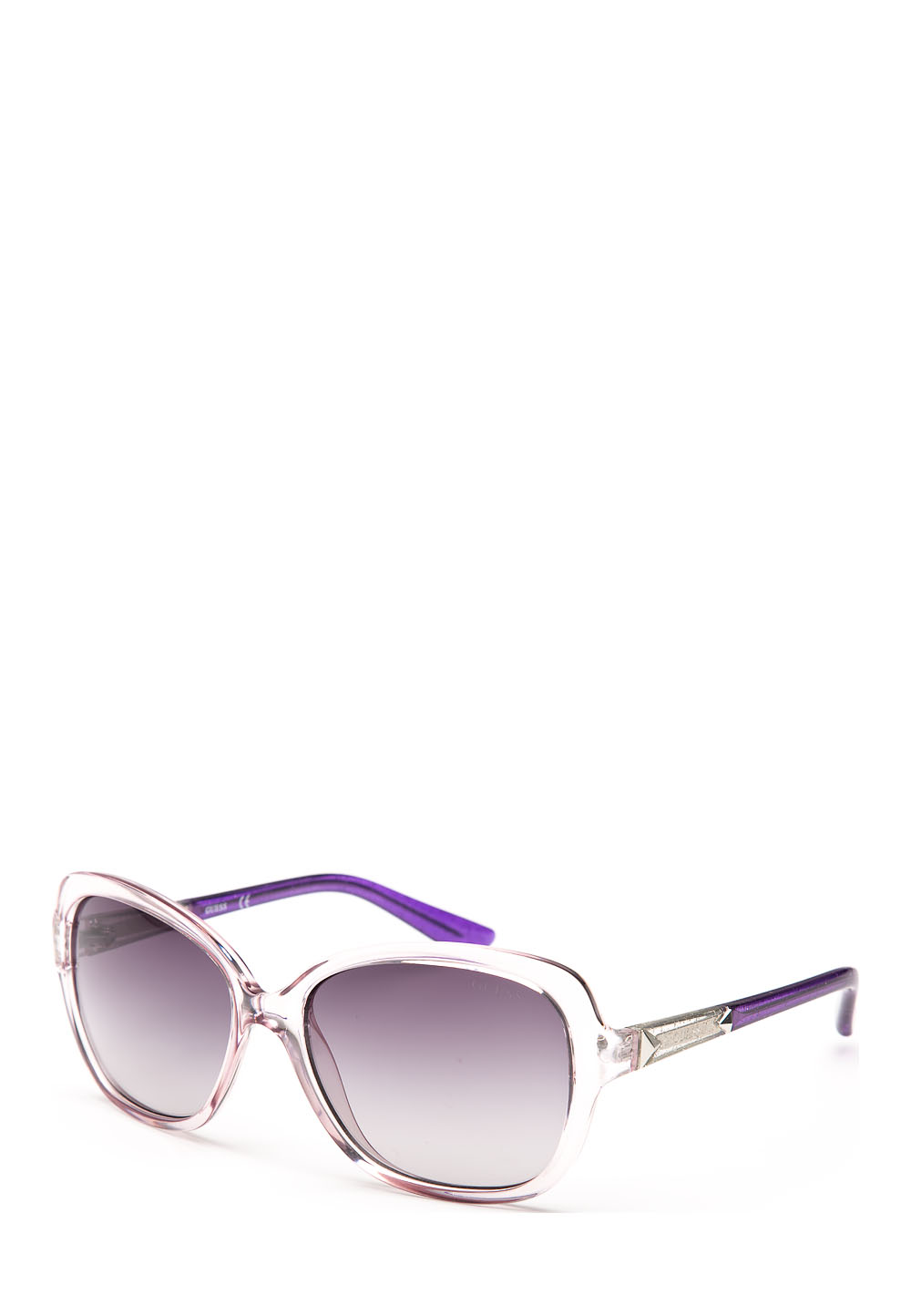 Sonnenbrille Gu7455, UV 400, transparent lila