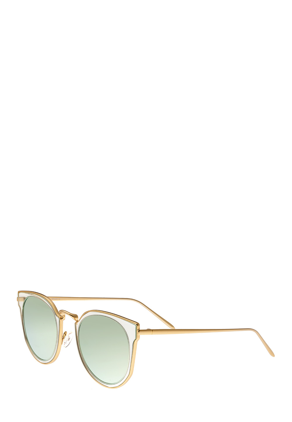 Bertha Sonnenbrille, Cat-Eye gold