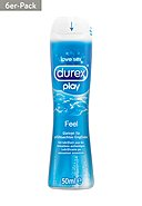 DUREX -  Gleitgel Play Feel 6x 50 ml [33,30€*/1l]