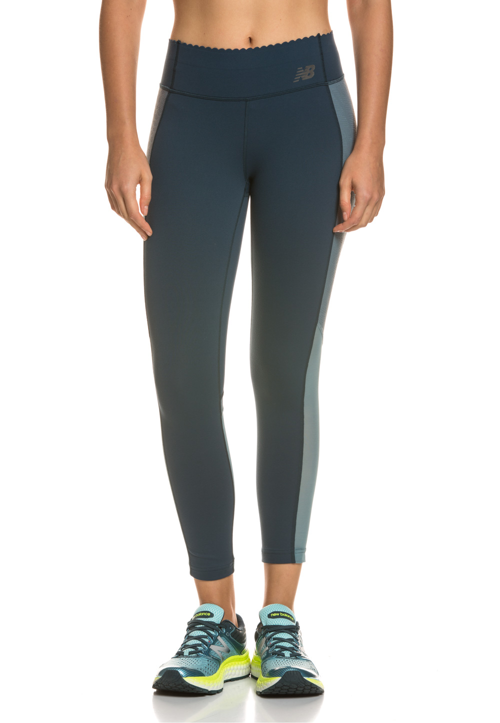 NEW Balance Tights, 7/8-Länge blau | Sportbekleidung > Sporthosen > Tights | Blau | New Balance