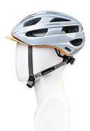CRATONI - Fahrradhelm Velon +, white/orange