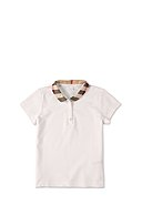 BURBERRY - Polo-Shirt, Bubikragen