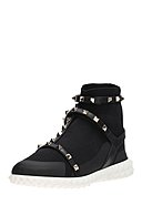 VALENTINO - High-Top Sneaker, schwarz