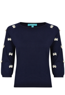 FEVER LONDON - Pullover, 3/4-Arm, Rundhals
