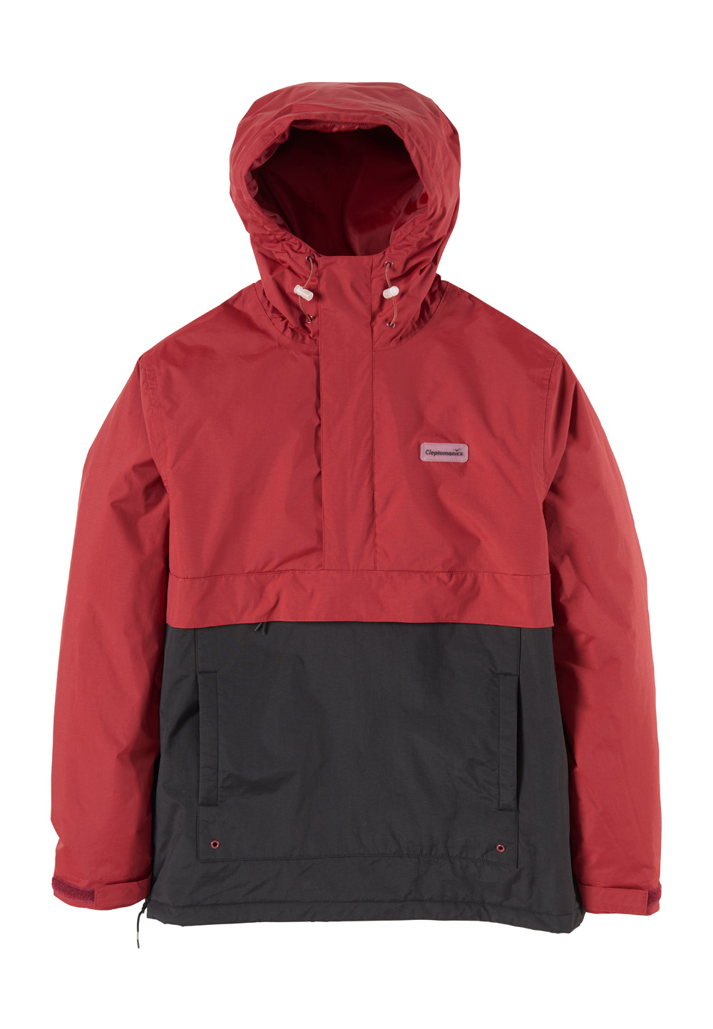 Cleptomanicx Windbreaker City HHooded Light 2, Kapuze rot | Sportbekleidung > Sportjacken > Windbreaker | Rot | Cleptomanicx