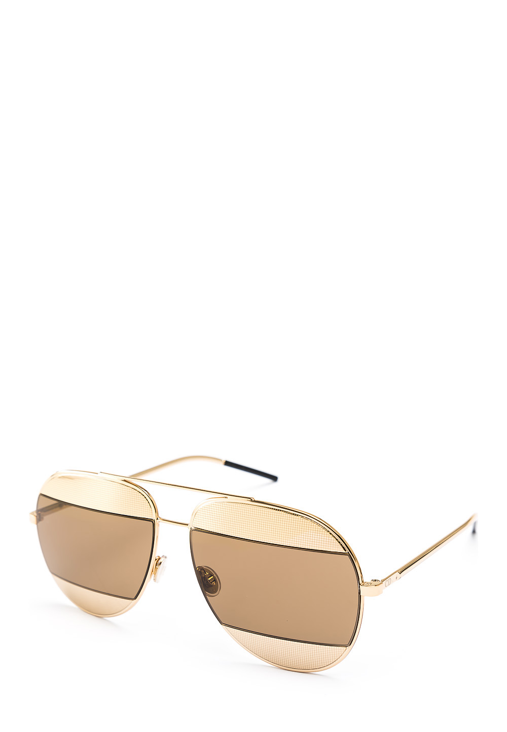 Sonnenbrille split, UV 400, golden