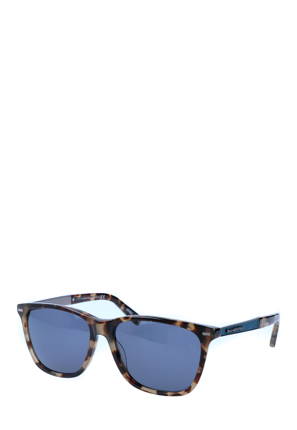 Ermenegildo Sonnenbrille Ez0023, Uv400, coloured havana bunt