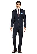 THOMAS GOODWIN - Anzug, Slim Fit, blau