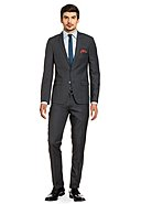 THOMAS GOODWIN - Anzug, Slim Fit, grau