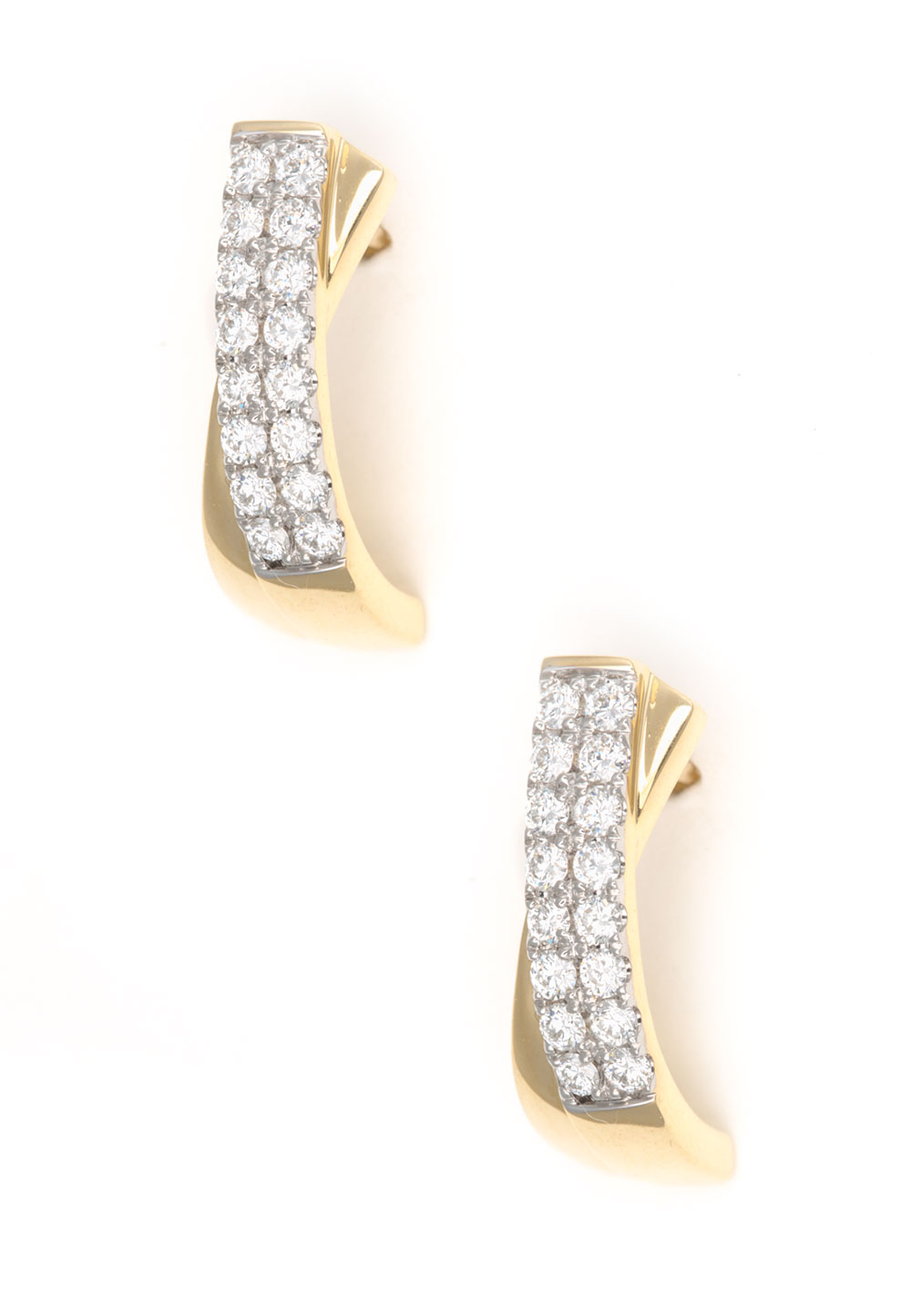 Pure Diamonds Ohrstecker, 750 Gelbgold, Brillant | Schmuck > Ohrschmuck & Ohrringe > Ohrstecker | Gold | Pure Diamonds