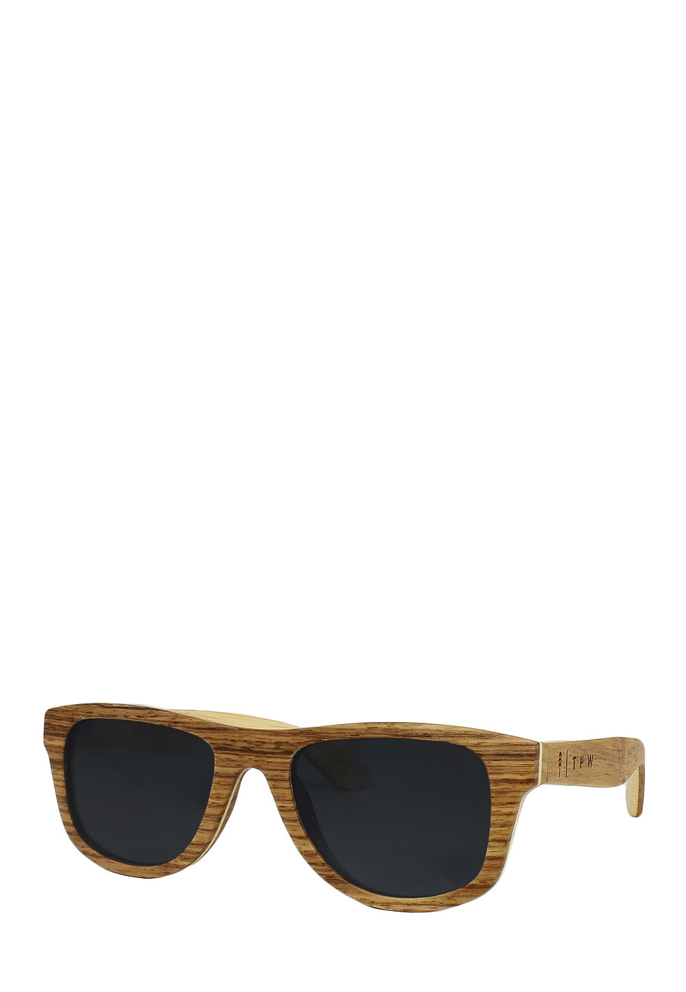 Time FOR Wood Sonnenbrille Erino Small, UV 400, hellbraun