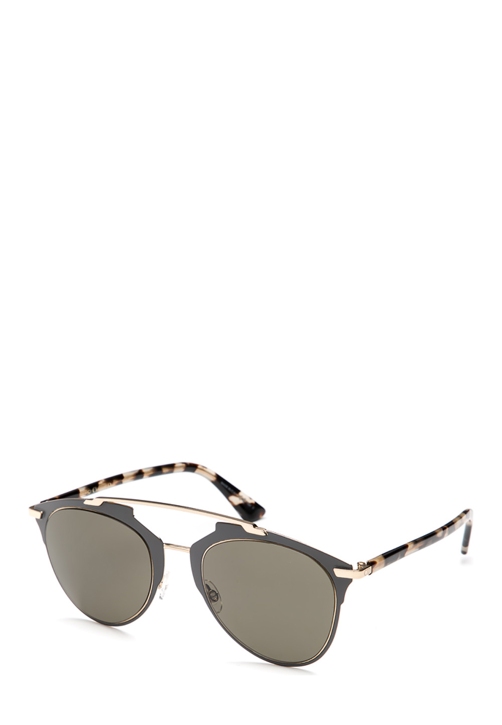Sonnenbrille reflected, UV 400, grau gold