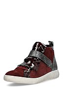MARC SHOES - High-Top Sneaker Fabiola, Leder, bordeaux