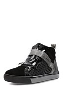 MARC SHOES - Hightop-Sneaker Fabienne, Leder, schwarz