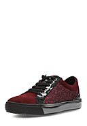 MARC SHOES - Sneaker Fabienne, Leder, bordeaux