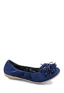 MARC SHOES - Ballerinas Janine, Leder, blau