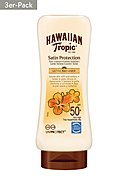 HAWAIIAN TROPIC - Sonnenlotion Satin Protection, LSF 50, 3er [31,46€*/1l]