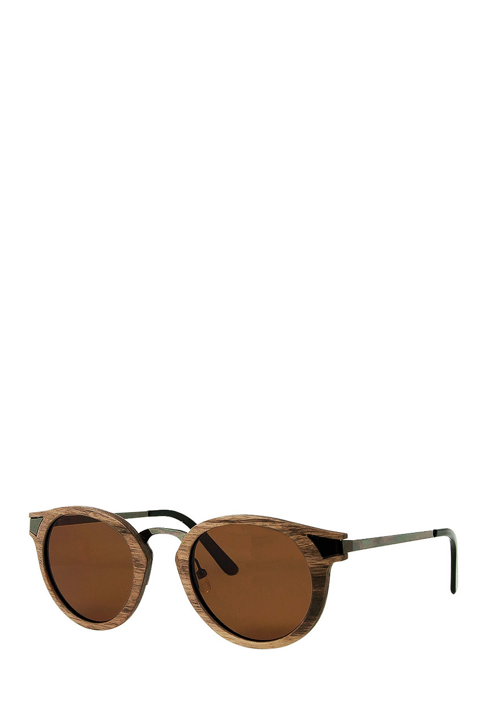 Time FOR Wood Sonnenbrille Ignis, UV 400, braun
