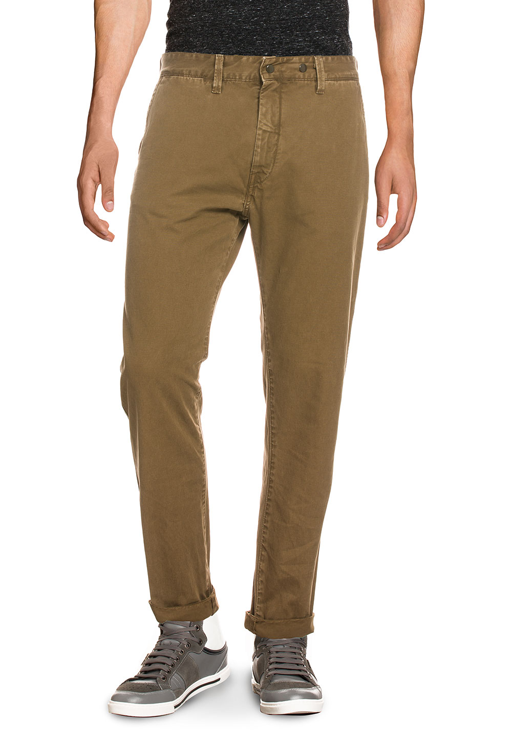 Replay Chino Nickave, Slim Fit braun | Bekleidung > Hosen > Chinohosen | Braun | Replay
