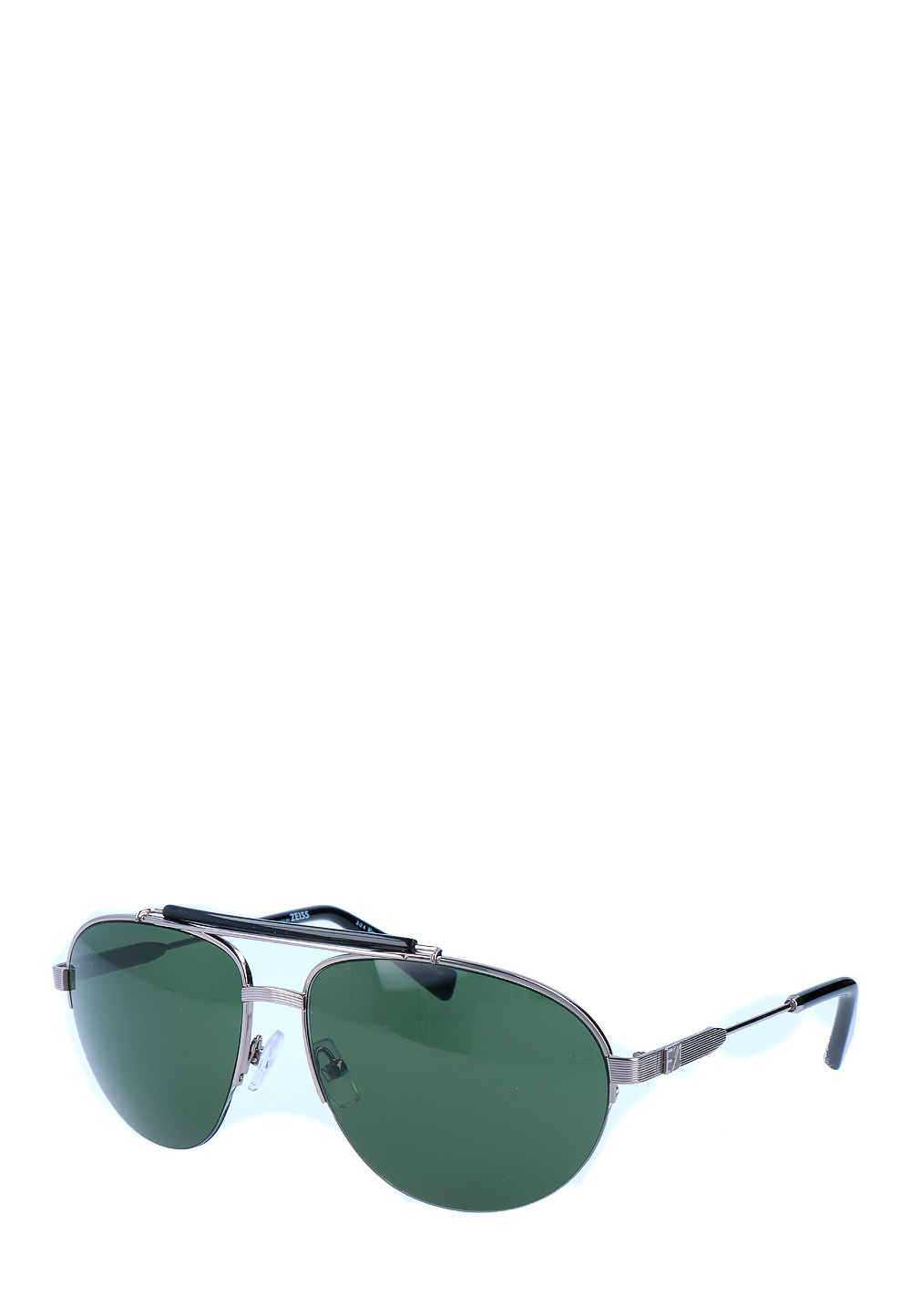 Ermenegildo Sonnenbrille Ez0007, Uv400, shiny light ruthenium bunt