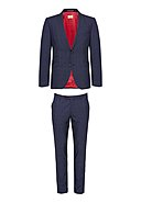 CG-CLUB OF GENTS - Anzug Camden, Schurwolle, Slim Fit