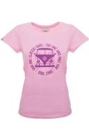 VAN ONE CLASSIC CARS - T-Shirt Bulli Face Used , Kurzarm, Rundhals