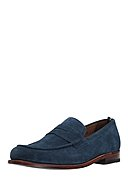 GORDON & BROS - Loafer Moc Alice, Leder, blau