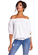 LA PETITE PARISIENNE - Bluse Corine, 3/4-Arm, Off-Shoulder