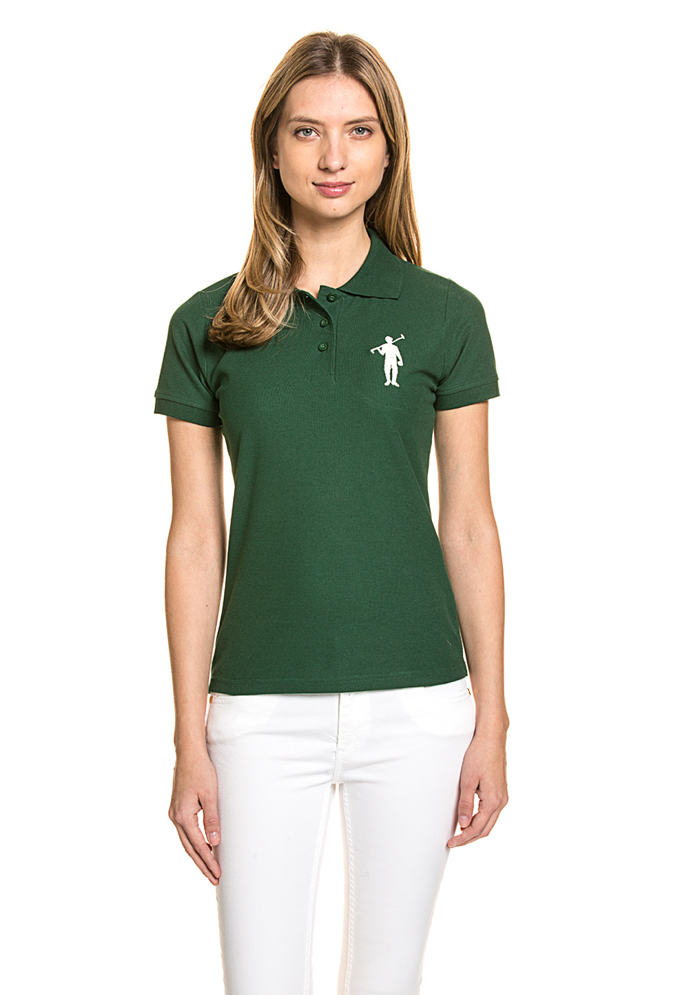 Polo Club Polo-Shirt, Custom Fit grün | Bekleidung > Shirts > Poloshirts | Polo Club