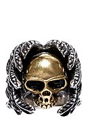 ROYAL EGO - Ring Skull Angel Wings