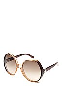 CHLOE - Sonnenbrille CE717S, UV 400, gradient brown