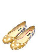 DOGO - Ballerinas Stripes And Dots, bunt