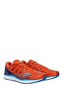 SAUCONY - Laufschuhe Freedom Iso 2, orange/blau