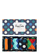 HAPPY SOCKS - Socken-Set Mix, 4-tlg.