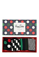 HAPPY SOCKS - Socken-Set Holiday Big Dot, 4-tlg.