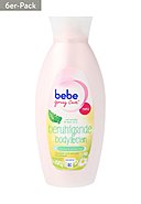 BEBE - Body Lotion Young Care, 6x 400 ml [3,75€*/1l]