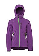 R'ADYS - Jacke Light Softshell, Kapuze, gerade Passform