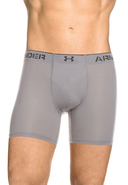UNDER ARMOUR - Boxer-Briefs Armourvent, Fitted Fit, grau