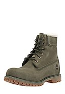 TIMBERLAND - Boots 6In Premium Shearling, Leder/Lammfell, weit